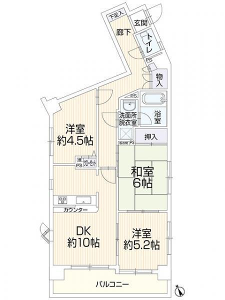 中古マンションセンチュリー柏 401千葉県柏市柏JR常磐線(上野~取手)柏駅1599万円